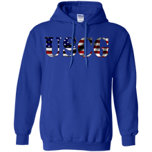 Coast Guard G185 Gildan Pullover Hoodie 8 oz AM070.