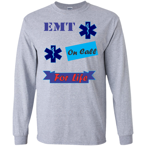 EMT G240 Gildan LS Ultra Cotton T-Shirt AH138