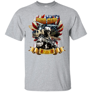 Marines G200 Gildan Ultra Cotton T-Shirt AM042