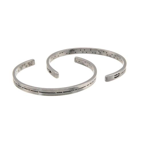 Men's Pewter Arrow Cuff Bracelet