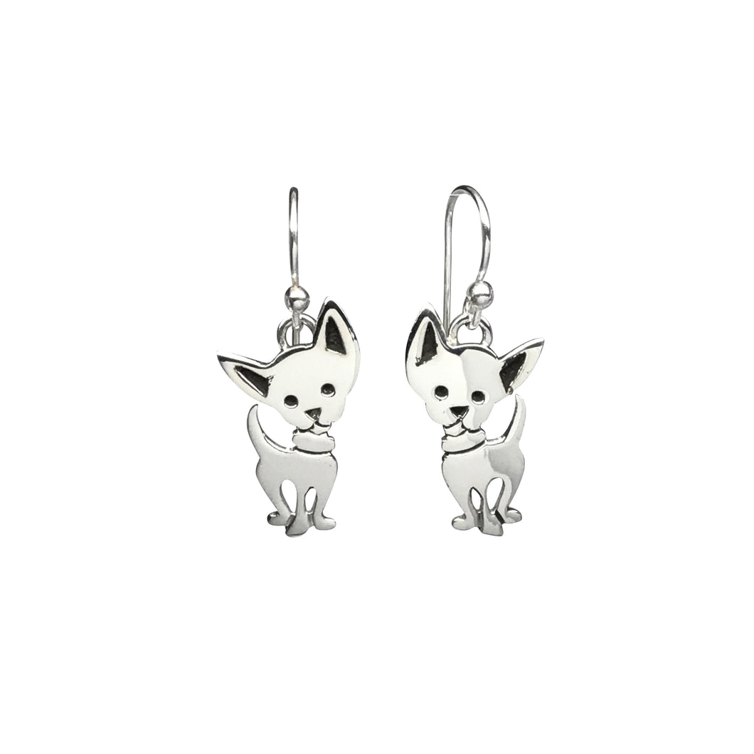 Cheeky Chihuahua Earrings
