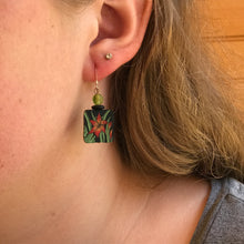 Autumn Daylily Earrings
