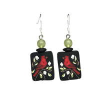 Red Cardinal Earrings