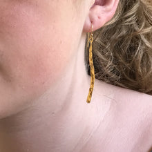 Gold Verve Earrings