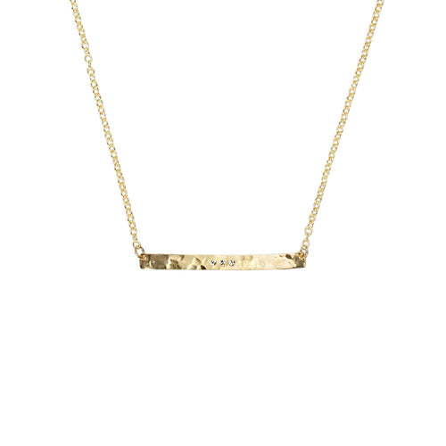 Gold Skyline Necklace