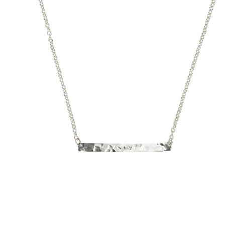 Silver Skyline Necklace
