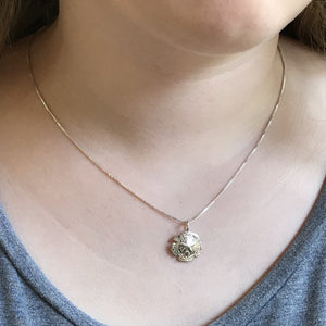 Sanddollar Pendant Necklace
