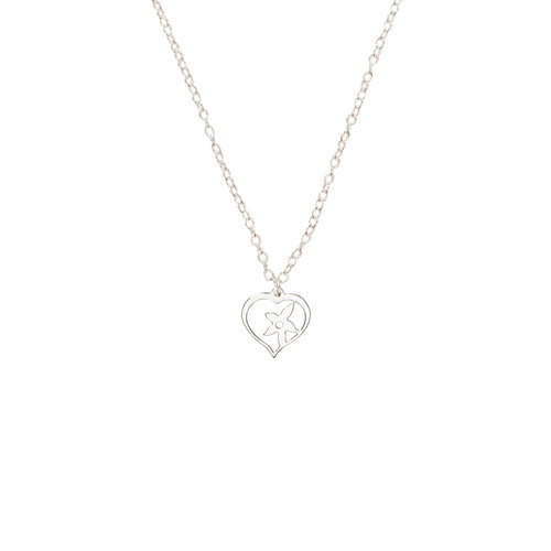 Silver True Love Necklace