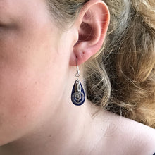 Teardrop Swirl Earrings