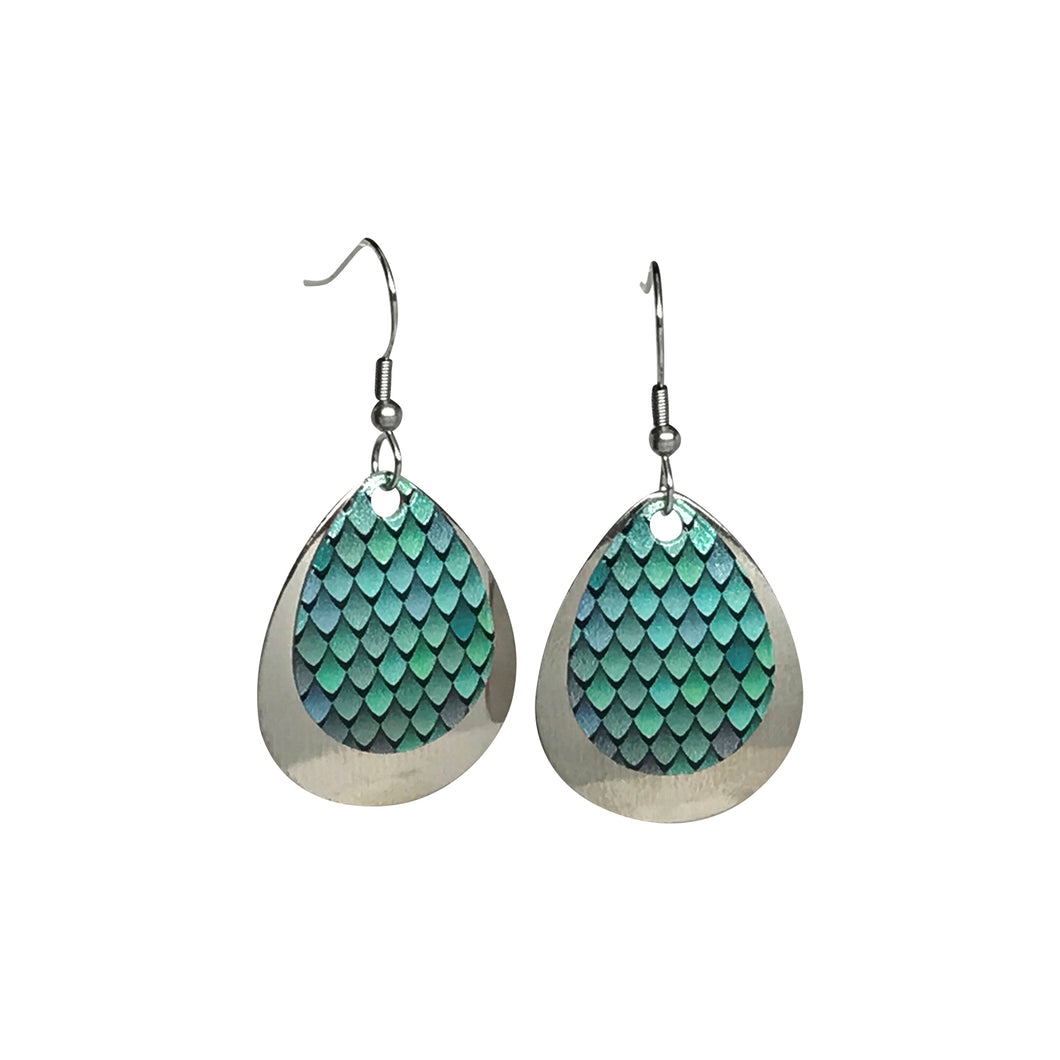 Shades of Green Earrings