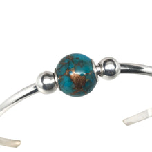 Bronze Infused Kingman Turquoise Bead