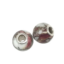 American bead collection purple spiny oyster bead