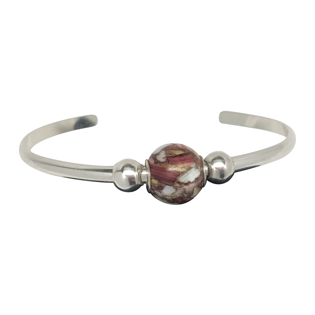 American bead collection sterling cuff bracelet