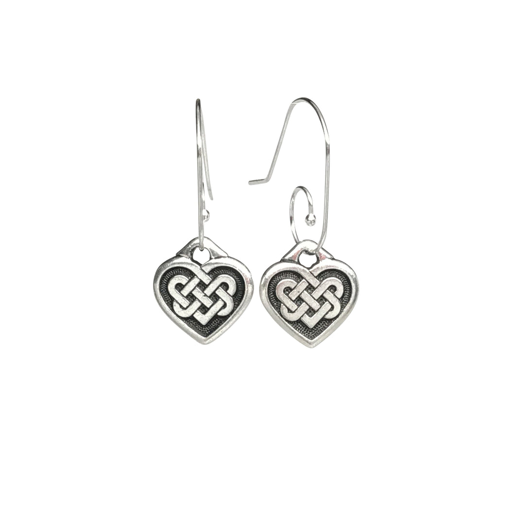 Celtic Heart Earrings
