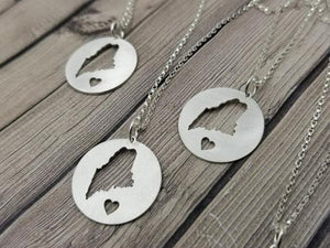 Maine Circle of Love Necklace