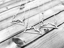Maine Mountains Necklace