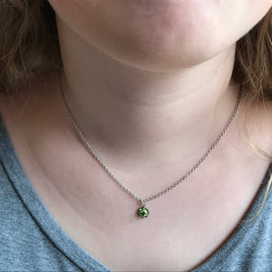 Crystal Birthstone Necklace