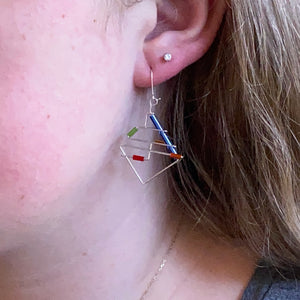 Subway Barb Wire Earrings