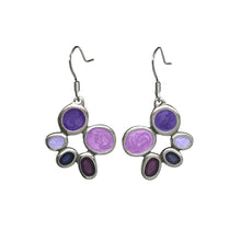 Samba Violets Earrings