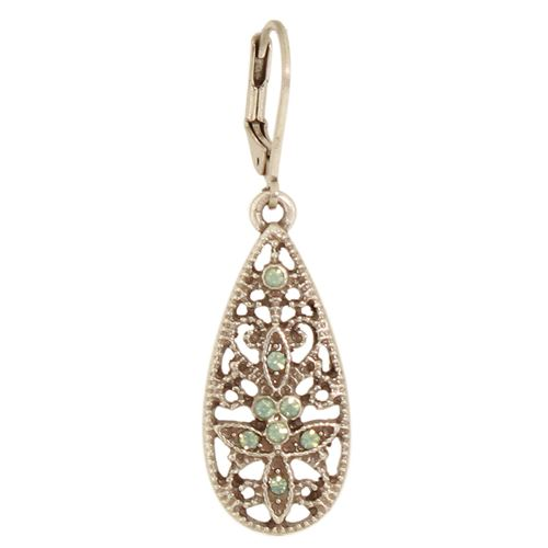 Filigree Teardrop Earrings