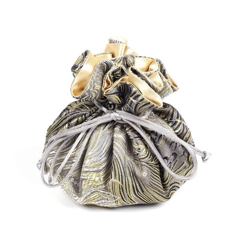 Gold Jewelry Pouch