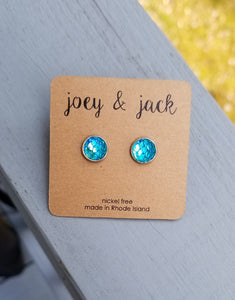 Mermaid Stud Earrings