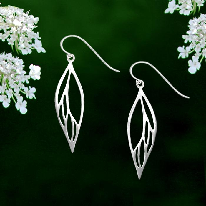 Nouveau Leaf Earrings