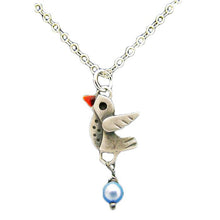 Little Lovebird Pendant Necklace