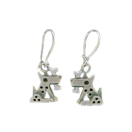 Silver Fido Earrings