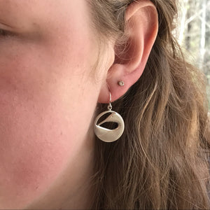 Preening Loon Earrings