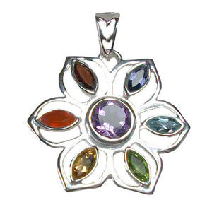 Flower Power Chakra Necklace