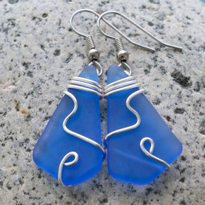 Bermuda Sea Glass Earrings