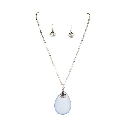Seaglass Necklace Set