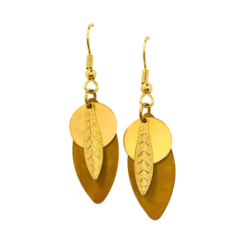 Acorn Layered Earrings