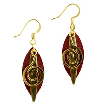 Marquise Swirl Earrings
