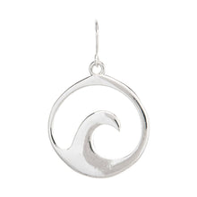 Silver Wave Earrings