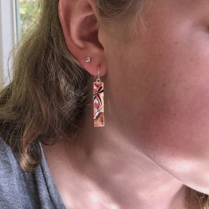 Dragonfly Bar Earrings