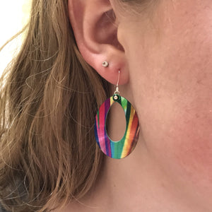 Groovy Hoop Earrings