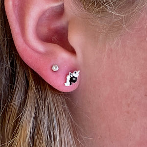 Unicorn Post Earrings
