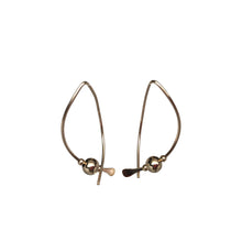 Medium Gold Wishbone Earrings