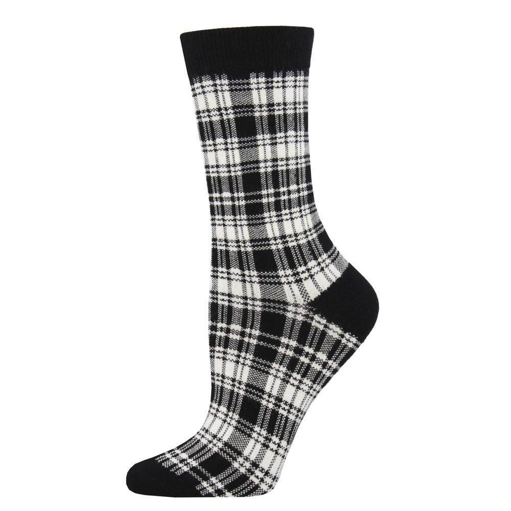 Bamboo Plaid Socks