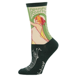 Absinthe Girl Socks