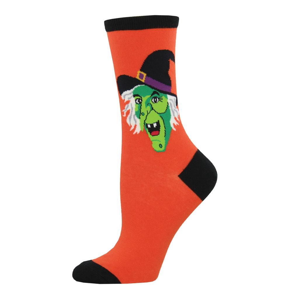 Cackling Witch Socks
