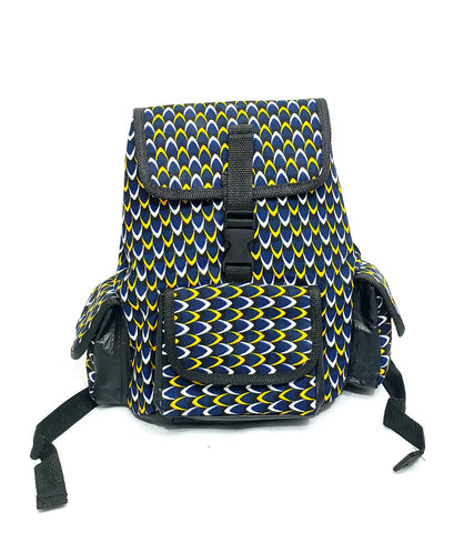 Mini Ankara Backpack