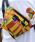 Royalty  Cruise - Kente Fanny Pack