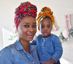 AYANNA - Head Wrap, Face Mask & Scrunchie Set