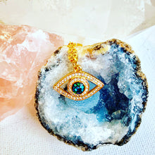 Load image into Gallery viewer, Evil Eye Necklace