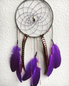Purple Goddess Dreamcatcher