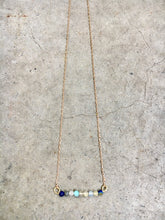 Load image into Gallery viewer, Tourmaline Bar Necklace