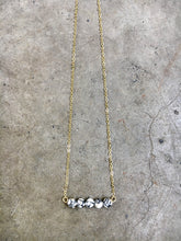 Load image into Gallery viewer, Dalmation Jasper Bar Necklace